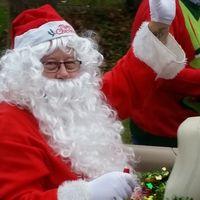 Santa on tour